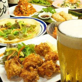 お得な120分!食べ放題&飲み放題コース¥2980(税込)