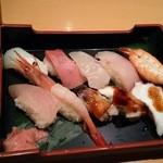 藤 寿司 - 寿司定食のお寿司