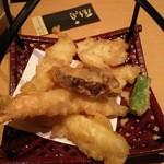 藤 寿司 - 寿司定食についている天ぷら
