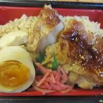 フレッシュ&ハーフプライス ベーカリー - 半額だったお弁当からは大好きな鶏めし弁当182円を選んでみました。