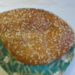 フレッシュ&ハーフプライス ベーカリー - 64円パン最後は玉子サラダパン。