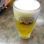 本家 山賊鍋 - 生ビール