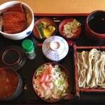 田畑屋 - うな重セット(1,680円)