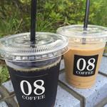40833635 - アイスコーヒー&アイスカフェラテ…テイクアウトで!