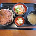 レストラン サンサワ - ヒレカツ丼 1100円