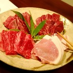石鍋のぐち 白金邸 - 熟成牛・豚