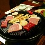 石鍋のぐち 白金邸 - 熟成牛・豚の焼肉