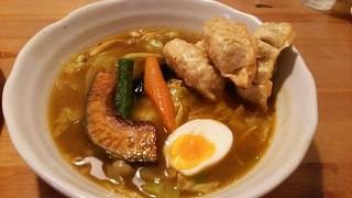 スープカレー マルナ - 餃子スープカレー