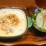 羅苧豆 - マカロニグラタン