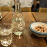 多可能 - 日本酒 萩錦 と お通し