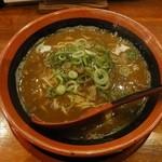 40837236 - カレーらーめん(細麺)