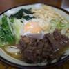 渡辺うどん - 料理写真:肉うどん(中)