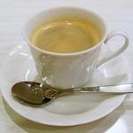 トラットリア・ターボロ・ディ・フィオーリ - コーヒー