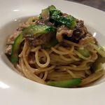 トラットリア リオコルノ - パスタの具材は季節折々旬の食材を…♡