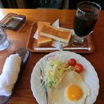シルクロード - 料理写真:モーニング450円