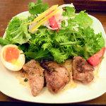OTODAMA BAR - 鮪ホホ肉のステーキ