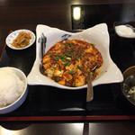 40841162 - ランチタイムの麻婆豆腐