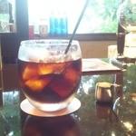 花論珈琲茶房 - 水出しアイスコーヒー 670円