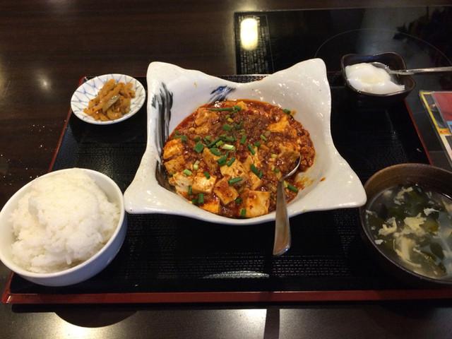 四季海岸 - ランチタイムの麻婆豆腐