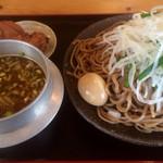 鳴門 - つけ麺(特大)全部のせ 1320円