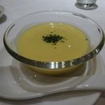 40843615 - 飲茶セットのコーンスープ