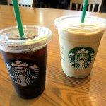 スターバックス・コーヒー - コーヒーフラペチーノ&ブレンドコーヒー!(2015,08/08)