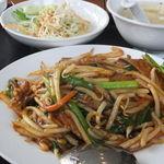 台湾料理 福満樓 - レバニラ炒め