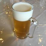 東海カントリークラブレストラン - 泡も綺麗な 生ビール