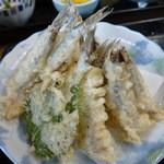 佐島かねき - しこ鰯の天ぷら