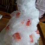 40849608 - 桃のかき氷
