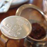 ティーハウス ムジカ - tea strainer