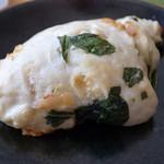 オブジェ - ほうれん草のパン
