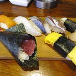 魚寿司 - ランチ:握り
