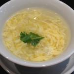 桃花源 - おかわりで出てきたスープ
