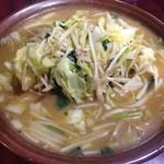大王 - ボリュームたっぷり!味噌タンメン