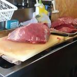 40856467 - でっかいお肉のかたまり