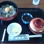 いかやき 福寿草 - イカ刺し丼。。。720円。。。