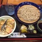 小川屋 - 料理写真:天丼セット201506