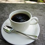 茶房 梅樹庵 - 湧き水で淹れたコーヒー 300円