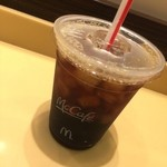 マクドナルド - アイスコーヒー(¥100)