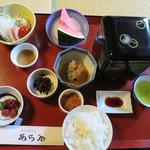 新井旅館 - 朝食