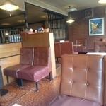 40861896 - 椅子の補強と床の色が歴史を物語ってます