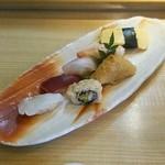みやた - 若草 1250円のいろいろ鮨盛り