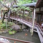 Arairyokan - 渡りの橋