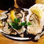 bottega - 牡蠣フェス本日の三種