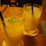 Cafe&dining Bambi - グレープフルーツ、オレンジジュース