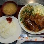 40863184 - ポークテキ定食1000円