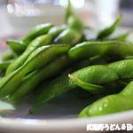 丸広百貨店 屋上ビアガーデン - 枝豆