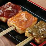 宮戸川 - 『豆腐田楽』豆腐百珍より