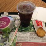 マクドナルド - アボカドマフィンセット ¥390